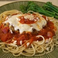 Low Calorie Chicken Parmigiana