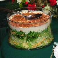 Low-Calorie Seven Layer Salad