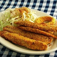 Low-Carb Breaded Fish