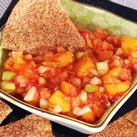Low Carb Fruit Salsa