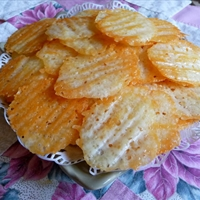 LOW CARB MONTEREY JACK DIPPING CHIPS