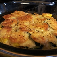 Low-Carb Zucchini Gratin