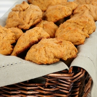 Low Fat Sweet Potato Biscuits