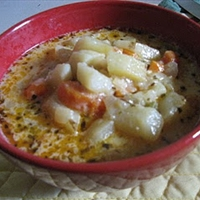 Luscious Potato Soup