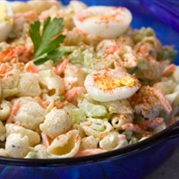 Macaroni and Cheddar Salad