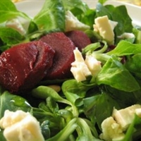 Mache Feta Beet Salad