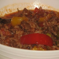 Mama D's Stuffed Pepper Soup