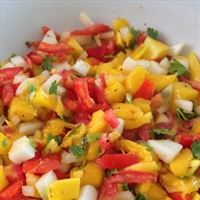 Mango Pineaple Salsa