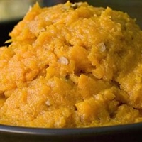 Mashed Maple Sweet Potatoes