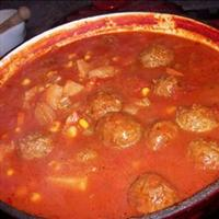 Meatball Soup