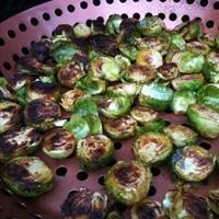 Mediterranean Braised Brussel Sprouts