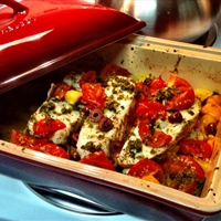 Mediterranean Fish Casserole (SUPERFOOD)