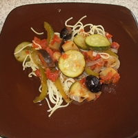 Mediterranean Ratatouille Chicken