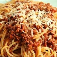 Mediterranean Spaghetti Bolognaise