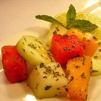 Melon Mint Salad