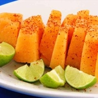 Melon with Chile, Salt, and Lime