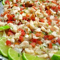 Memo's Shrimp Ceviche