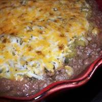 Mexican Beef and Bean Dip