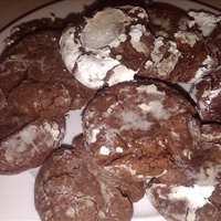 Mexican Chocolate Cherry Cookies