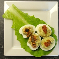 Mexican Deviled Eggs (DailyBurn Ignite)
