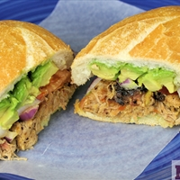 Mexican Pulled Pork torta