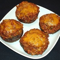 Mexican Stuffed Mushrooms