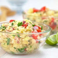 Middle East Rice Tabbouleh