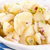 Midwest Potato Salad Vegan Style