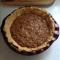 Million Dollar Oat-n-Honey pie