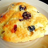 Mixed Berry Scones