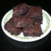 Mocha-Dark Chocolate Brownies