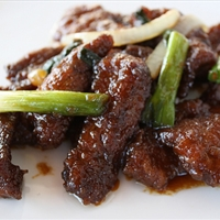 Mongolian Beef - Traditional