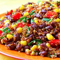 Moosewood Quinoa Black Bean Salad