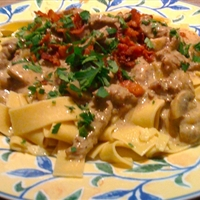 Muffi's Favorite Beef Stroganov