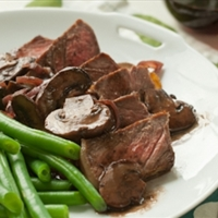 Mushroom and Red Wine Reduction Sauce