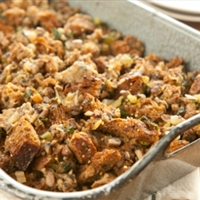 Mushroom Stuffing with Shallots and Fresh Herbs