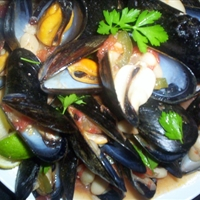 Mussels and Beans