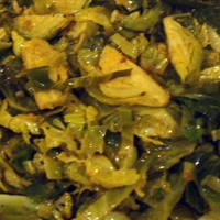 Mustard Brussel Sprouts