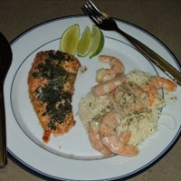 Nautico's Broiled Salmon Filet