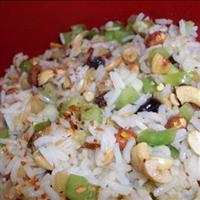 New Indonesian Rice Salad with Orange-sesame-cilantro Dressing