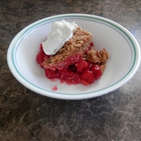 No Sugar Added Pie Cherry Crisp