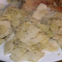 "North Croatian Cabbage and Pasta (""Krpice sa zeljem"")"