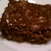 Nutella No-Bake Bars