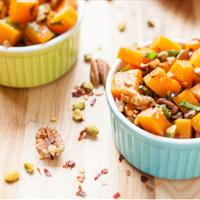 Nutty Butter Squash Bake - Pre-Workout: Endurance - By Brendon Brazier