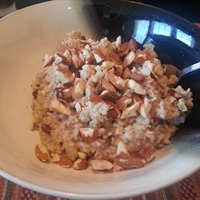 Nutty Coconut Oatmeal