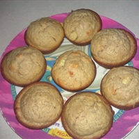 Oatmeal Apple Raisin Muffins