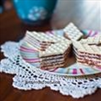 Oblatne - Croatian Bosnian Wafer Cake