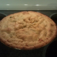 Old Fashioned Homemade Style Chicken Pot Pie