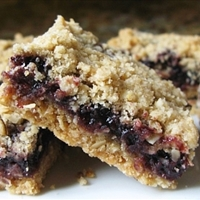 Old-Fashioned Raspberry Bars