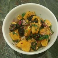 Orange and Black Olive Salad